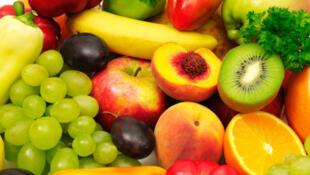 蔬菜水果表面残留的杀虫剂混合物