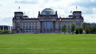 Le palais du Reichstag, siège du Parlement, à Berlin.