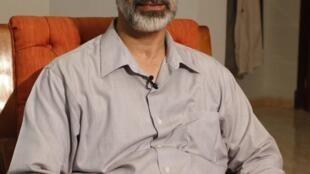 O líder da coalizão, Mouaz al-Khatib.
