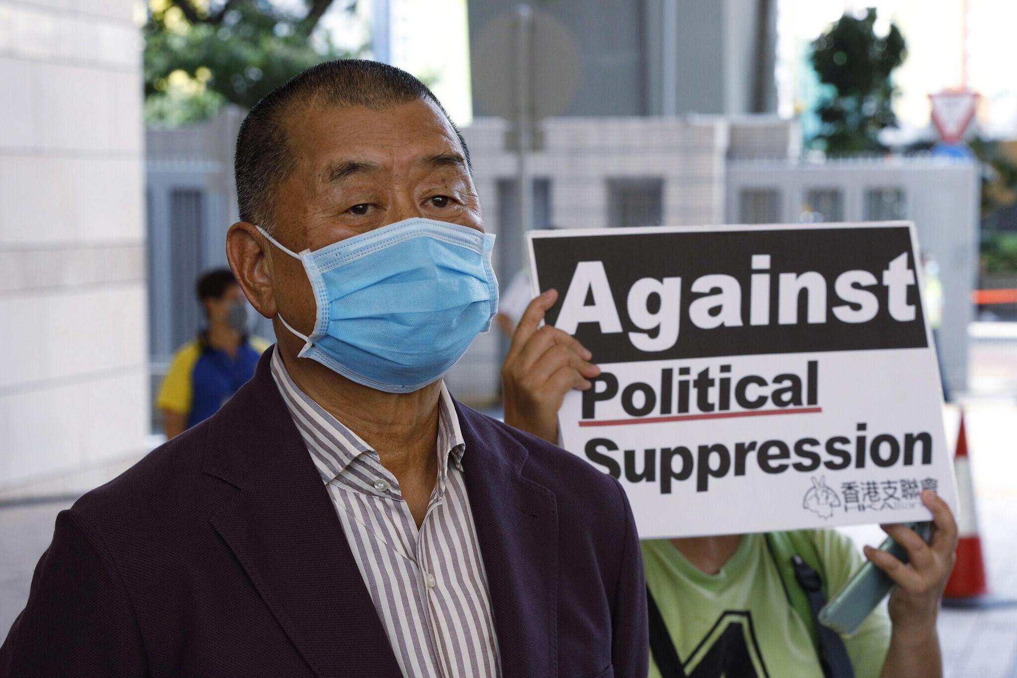 Jimmy Lai, mwanaharakati wa Demokrasia katika eneo la Hong Kong