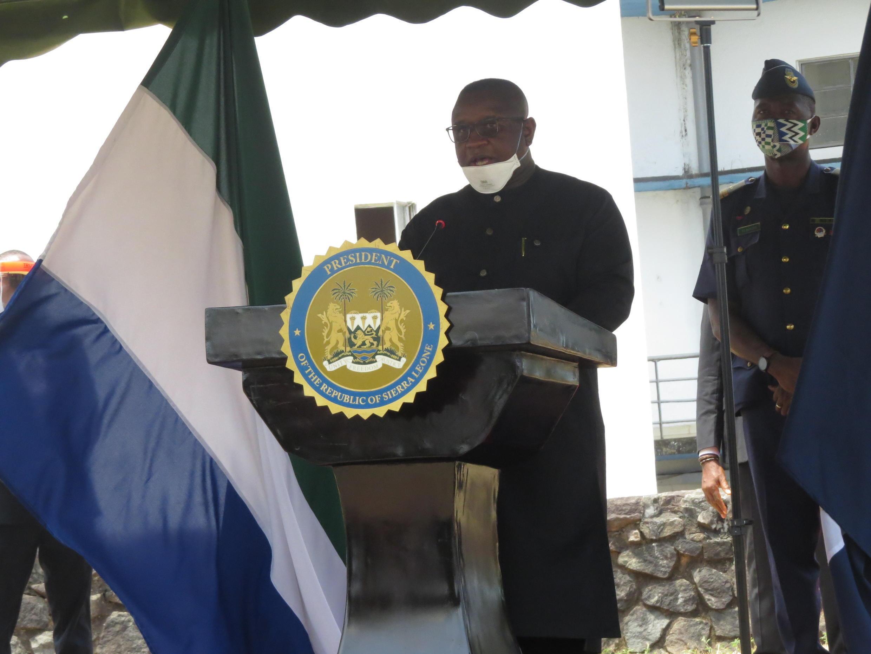 2020-04-09 sierra leone president julius maada bio coronavirus press conference
