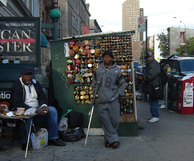 Bairro de Harlem, em Nova York.