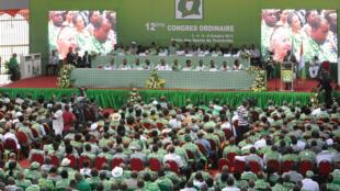 12e congrès du PDCI à Abidjan, Côte d'Ivoire, le 3 octobre 2013.