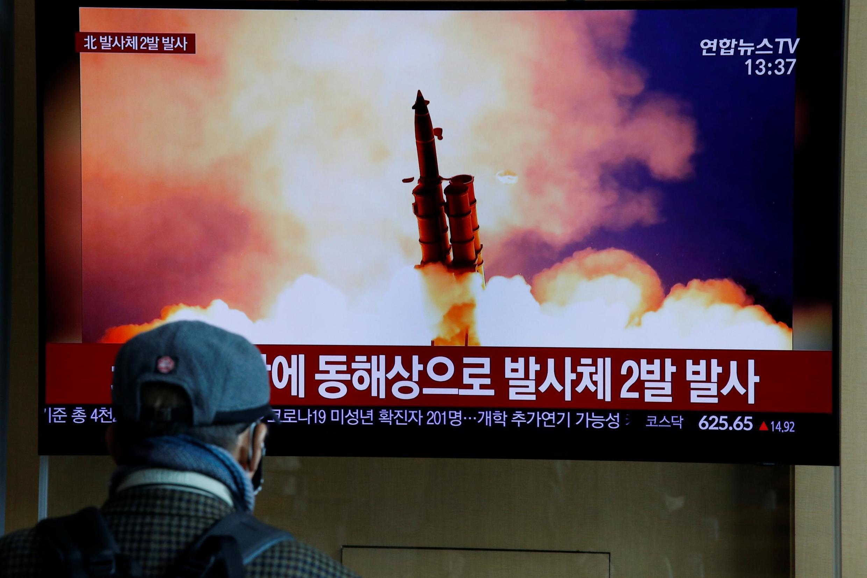 韩国广播公司报道了朝鲜射击事件2020年3月2日。