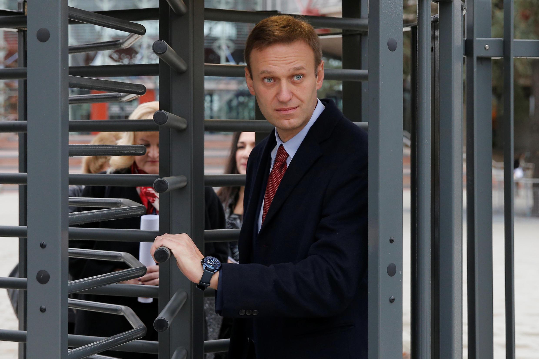 Алексей Навальный прибыл на слушание ЕСПЧ в Страсбурге.  15 ноября 2018 г.