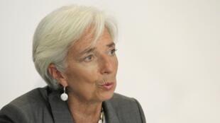 Christine Lagarde a célébre la réussite économique de la Lettonie.