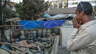 Le club «JazzAmba», une référence pour l'éthio-jazz à Addis-Abeba, a été ravagé par un incendie le 16 février 2015.