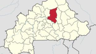 La province de Sanmatenga où se trouve le village de Yirgou est au centre-nord du Burkina Faso.