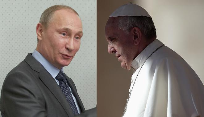 Владимир Путин встретится с Папой Франциском в Ватикане 07/11/2013