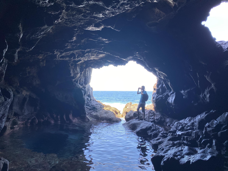Buracona, Ilha do Sal, em Cabo Verde.