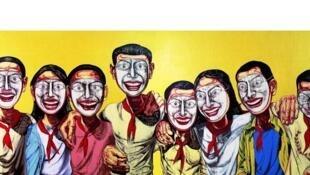 'Mask Series No.6', Zeng Fanzhi, 1996.