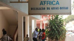 Delegação da RTP em Bissau.