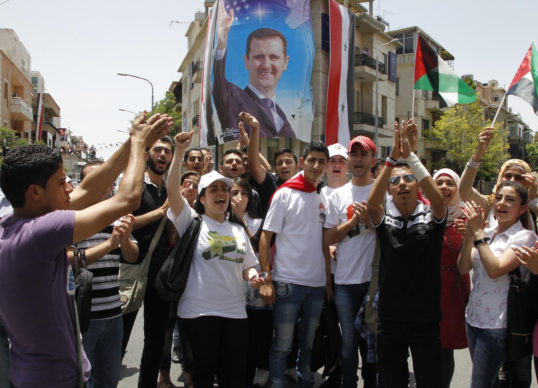 Magoya bayan Shugaban Syria Bashar al Assad