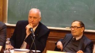 Круглый стол с участием Александра Бастрыкина в университете Paris I Panthéon-Sorbonne. Париж 20/11/2013