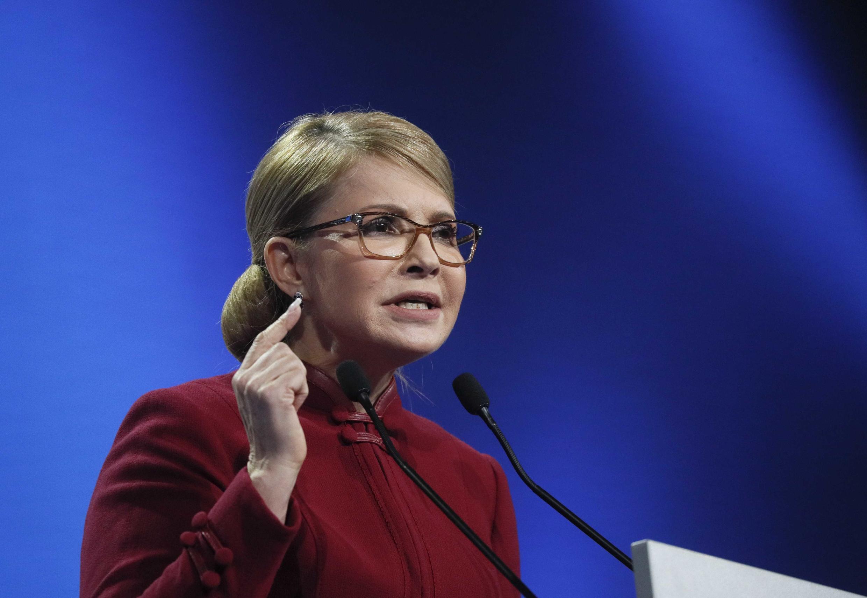 Юлия Тимошенко баллотируется впрезиденты Украины втретий раз