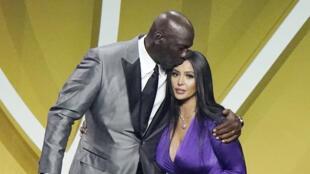 PHOTO Michael Jordan et Vanessa Bryant - 15 mai 2021