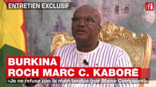 Shugaban kasar Burkina Faso, Roch Marc Christian Kaboré.