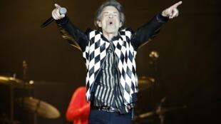 Le chanteur des Rolling Stones, Mick Jagger, lors d'un concert du groupe à Chicago, le 21 juin 2019.