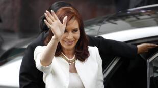 Cristina Kirchner, la présidente de l'Argentine, le 10 mars 2014.