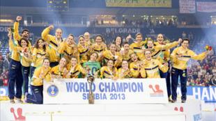 Brasileiras entram para a história como primeira seleção da América Latina a conquistar a medalha de ouro no mundial de handebol.