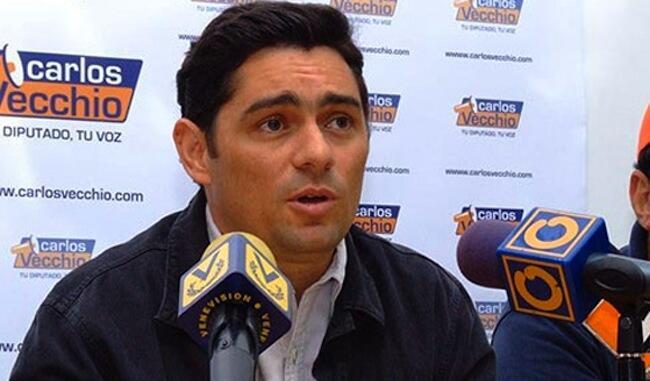 Mratibu wa siasa wa chama cha Voluntad Popular nchini Venezuela,  Carlos Vecchio