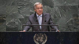 "UN Secretary-General Antonio Guterres said the world ""can overcome this challenge"" as it marks one million deaths from Covid-19 globally"