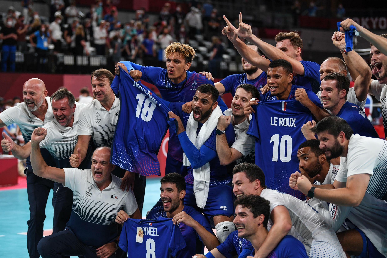 Сборная Франция выиграла свое первое олимпийское золото в волейболе