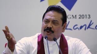 Tổng thống mãn nhiệm Sri Lanka, Mahinda Rajapaksé.