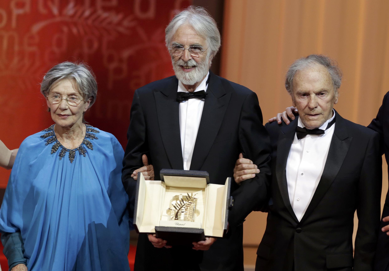 Michael Haneke đoạt Cành cọ vàng liên hoan Cannes nhờ bộ phim Amour