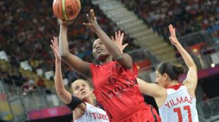 Felizarda Jorge, atleta da Selecção Nacional angolana.