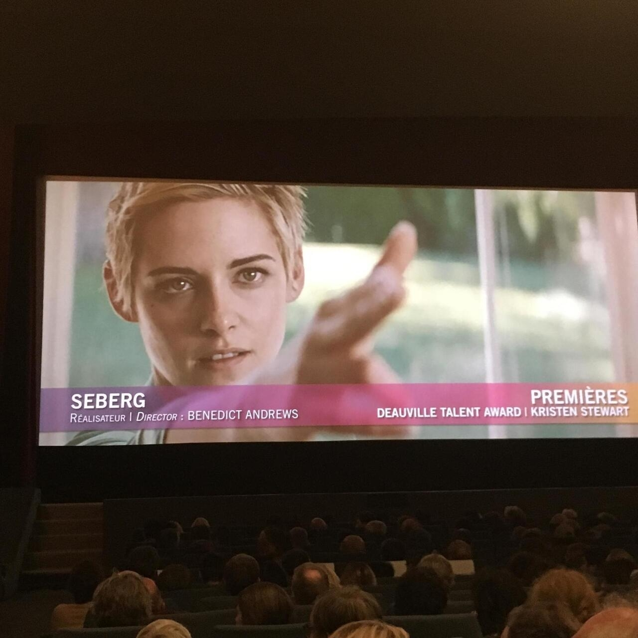 Kristen Stewart honoured with Deauville US Film Festival's Talent Awards