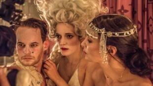 «Кабала святош. Жизнь господина де Мольера», сцена из спектакля, реж. Франк Касторф