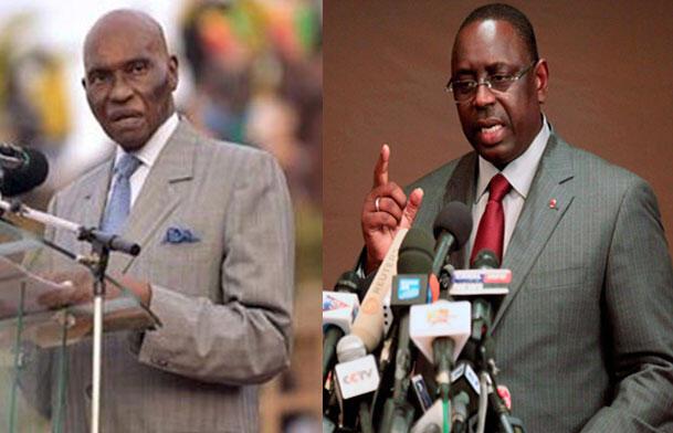 Shugaban Senegal Abdulaye Wade da madugun 'Yan adawa Macky Sall