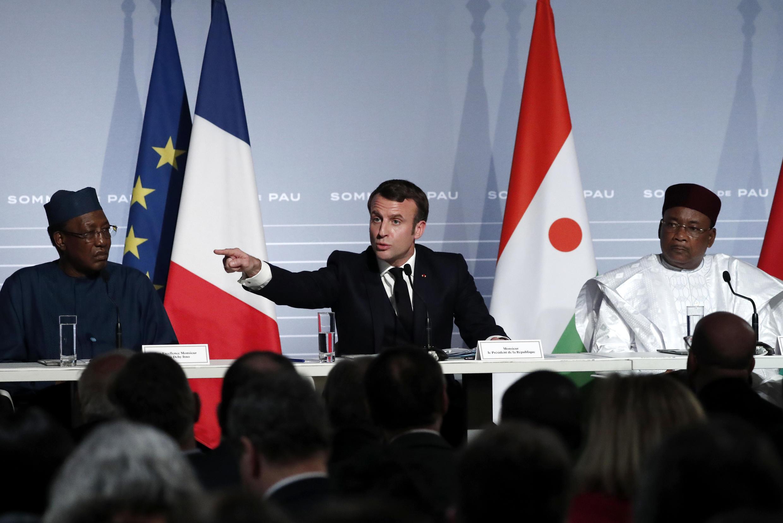Emmanuel Macron Sommet de Pau