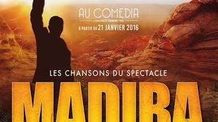 Affiche du spectacle « Madiba, le Musical ».