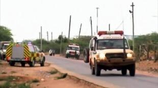 Une route au Kénya.