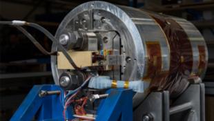 Un primer modelo de los imánes del FCC, el futuro colisionador de partículas del CERN