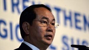 Chủ tịch nước Việt Nam Trần Đại Quang tại Viện Nghiên Cứu Đông Nam Á Singapore ngày 30/08/2016