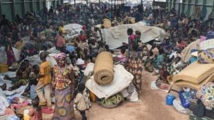 Après le massacre du mercredi 12 octobre, la population affolée a cherché refuge auprès des installations de la Minusca à Kaga-Bandoro.