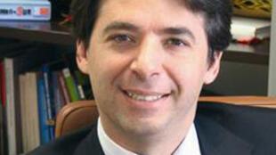 Percival Manglano, ministre régional de l'Economie et du Budget de Madrid, issu du parti populaire (PP).