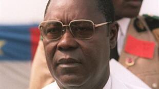 Général André Kolingba, l'ancien président centrafricain décédé ce 7 février 2010 à Paris.