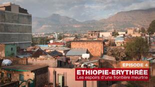 La ville d'Adigrat en Ethiopie.