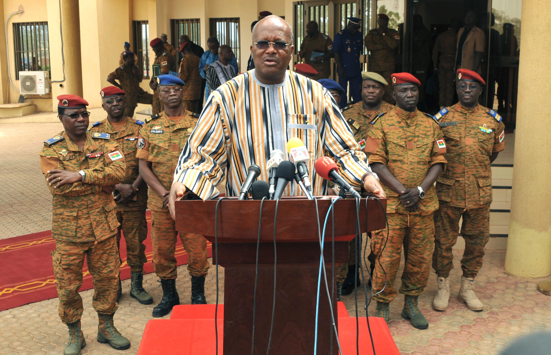 Rais wa Burkina Faso Roch Marc Christian Kaboré