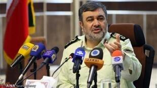 حسین اشتری فرماندۀ نیروی انتظامی جمهوری اسلامی ایران