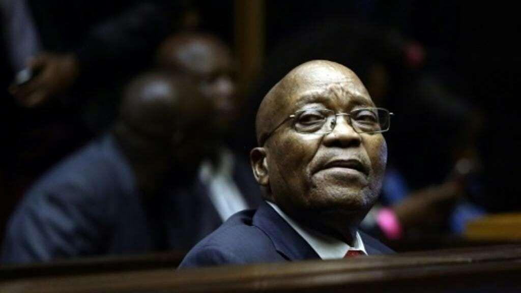 Zuma is one of the rare former African leaders to be facing trial.