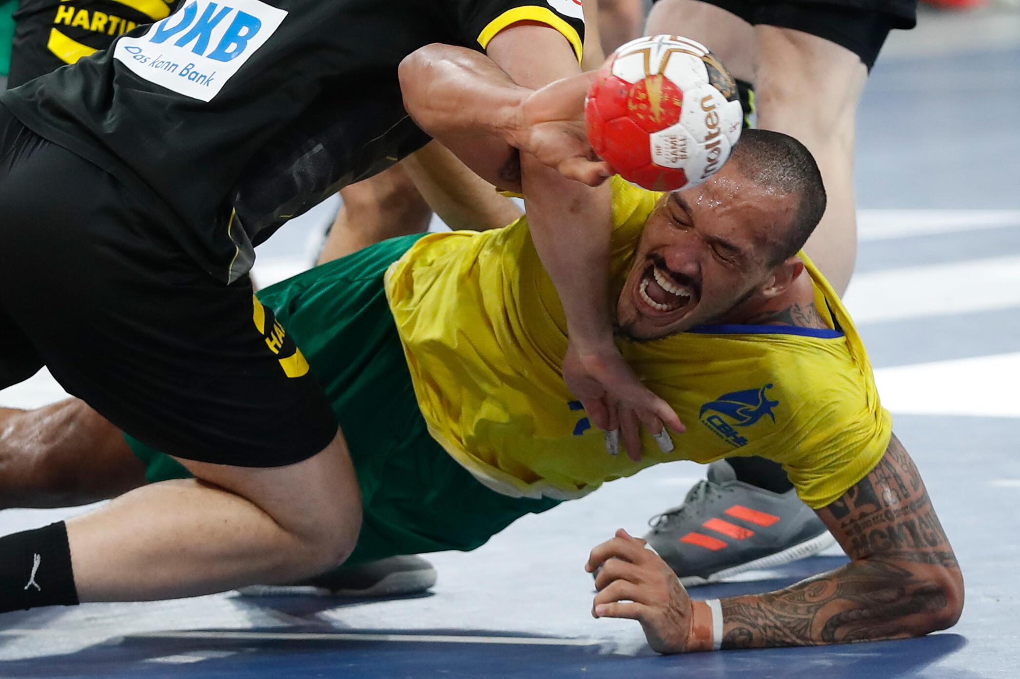 Rogério Moraes - Brasil - Selecção Brasileira - Andebol - Desporto - Mundial - Handball