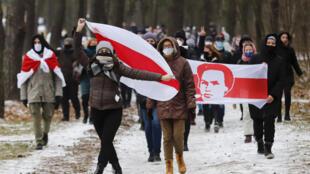 Biélorussie manifestation