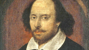 Retrato de William Shakespeare.