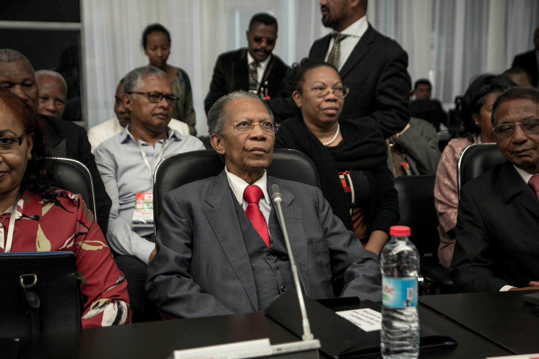 2019-11-27 madagascar former president Didier Ratsiraka
