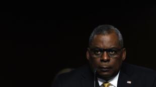 El secretario de Defensa de Estados Unidos, Lloyd Austin, durante una audiencia del Comité de Fuerzas Armadas del Senado